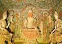 Ancient paintings of Buddha found in Nepalese caves