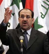 George W. Bush more cautious about Iraqi prime minister