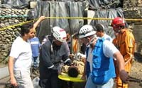 Colombian rescuers recovered the bodies of the 32 miners killed