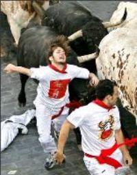 Bulls gored 4 runners in Pamplona