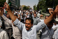 Iran turns into slaughterhouse