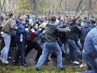 Massive Fight between African Students and Local Residents Occurs in Nizhny Novgorod