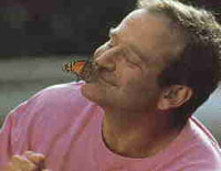 Robin Williams fighting against alcoholism