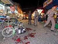 Bomb exploded in Thailand's market, 11 people wounded