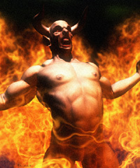 Prayers to exorcize cloven-hoofed demons appeared in 4th century