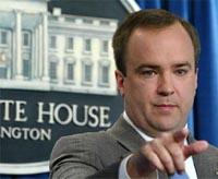 Bush's former press secretaty blames him in new book