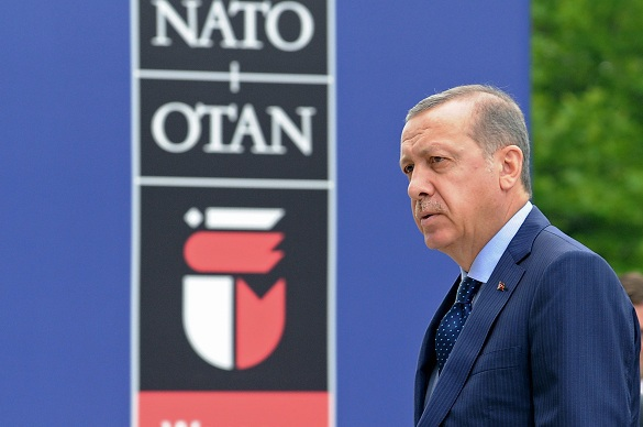 When US is to oust Turkey from NATO. Recep Erdogan
