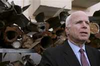John McCain meets British PM for talks on Iraq
