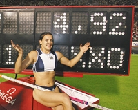 Isinbayeva ready for competition in Rome