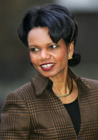 Rice points to Abbas' moral authority