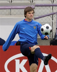 Andrei Arshavin likely to play for Barcelona