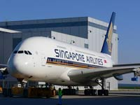 Singapore biggest passenger plane draws passengers from the entire world