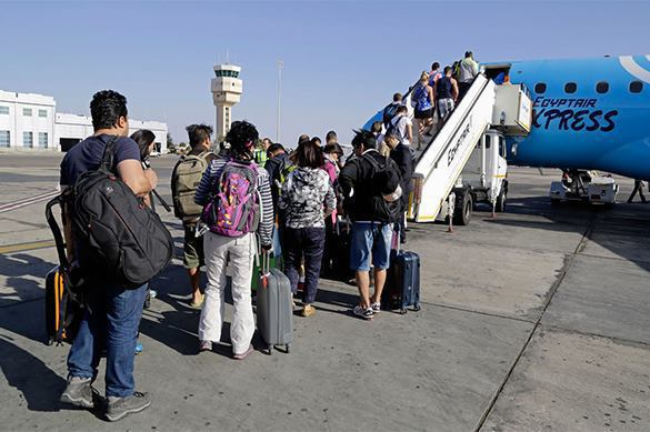 Russia to build its own terminals in Egyptian airports. Egypt