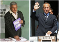 No official winner proclaimed in Mexico's presidential elections