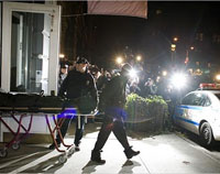 Four  Men Shot in Manhattan