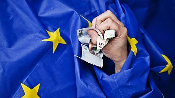 European Union deprives independent nations of economic sovereignty. EU crisis
