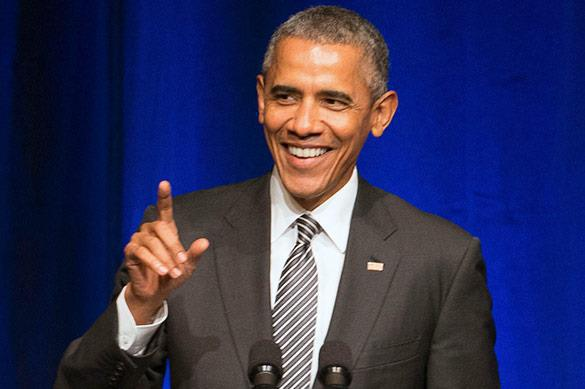Obama mocks Republicans for reproaching gays. Obama