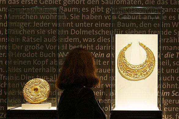 Scythian gold flows from Russia to Ukraine because Amsterdam said so?. 59443.jpeg