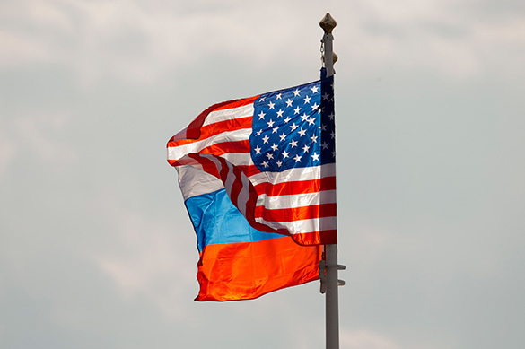 Russian Federation  protests against removal of flags from diplomatic properties in US