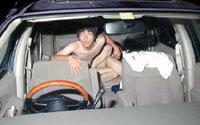 Sex-in-vehicle caused crash