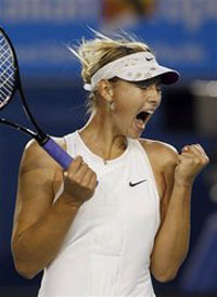 Sharapova to lead Russia against Israel