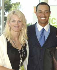Tiger's wife gives birth to a daughter