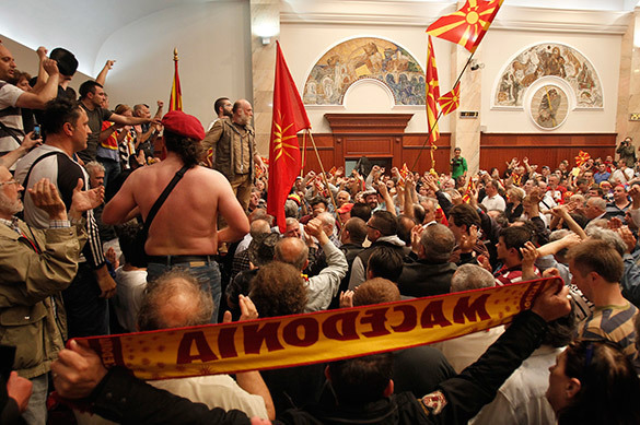 Civil war may break out in Macedonia. Macedonia