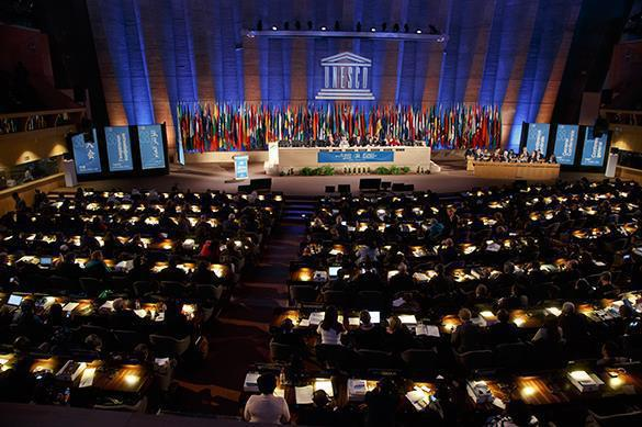 USA pulls out from UNESCO because of biased anti-Israeli resolutions. 61451.jpeg