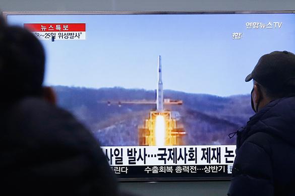 Kim Jong-un repays UN sanctions with missile strike. North Korea