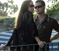 Angelina Jolie and Brad Pitt begin shooting scenes for movie about slain reporter in India