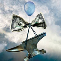 Europe feels the bite as US dollar plummets