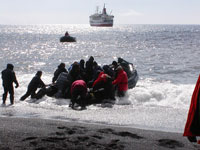 Over 150 people rescued after cruise ship hits object in Antarctica