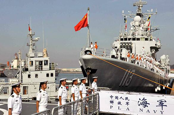 Chinese Navy sets off for Syria. Chinese Navy