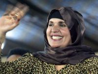 Gaddafi's wife condemns NATO on death of son. 44458.jpeg