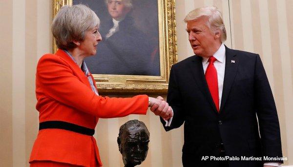 Donald Trump and Theresa May - Partners in Planning Armageddon?. 60458.jpeg