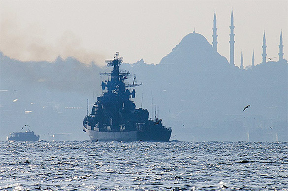 Turkey refuses to accept all ships arriving from Russia's Crimea. 61458.jpeg