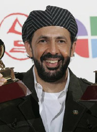 Dominican singer Juan Luis Guerra wins five musical honors in Latin Grammy Awards