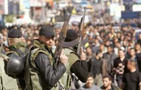 Gaza's militant groups against Mideast conference
