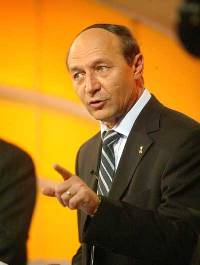 Romania's President Traian Basescu resigns in order to force new elections