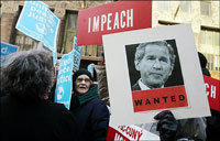 Eighteen anti-war protesters arrested in US