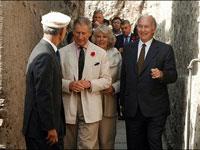 Prince Charles visits Uganda