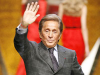 Valentino Garavani bids adieu to glamour and fashion