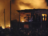 Fire kills two families in Russia. 48461.jpeg