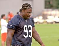 Bears DT Johnson suspended for 1 game after 3rd arrest
