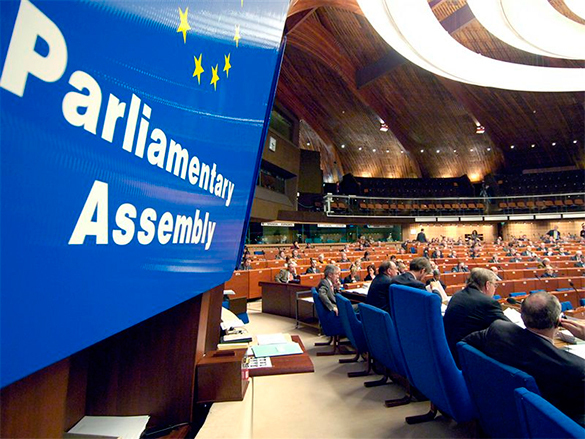 Russia waves goodbye to useless PACE. Parliamentary Assembly of the Council of Europe