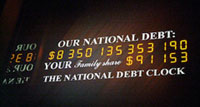 U.S. national debt sets another record – 9.815 trillion dollars