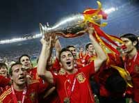 Spain wins its second European Championship