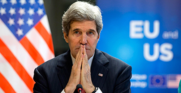Putin's triumph: US refuses Assad's removal. Kerry