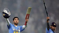 Yuvraj Singh hits six sixes in Twenty20 international