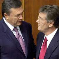 Viktor Yushchenko and Viktor Yanukovych reach agreement on early parliamentary elections